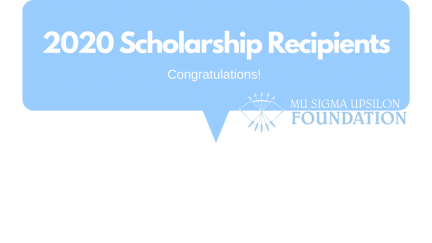 Congratulations to the 2020 MSU Foundation Scholarship Recipients!
