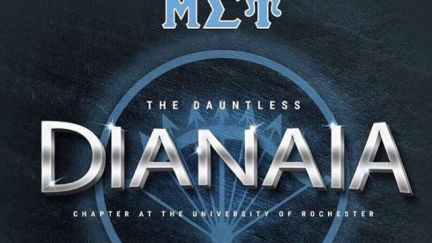 Congratulations to the Dauntless Dianaia Chapter at the University of Rochester!