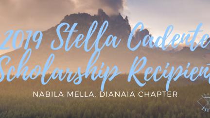 Nabila Mella, 2019 Stella Cadente Scholarship