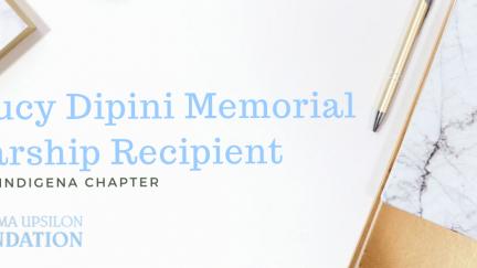 Maria Soto, 2019 Lucy Dipini Memorial Scholarship Recipient