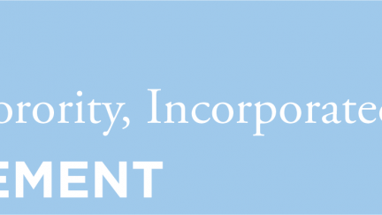 "Mu Sigma Upsilon Sorority, Inc. strongly opposes the ""Zero Tolerance"" immigration policy"